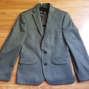 Lauren, Ralph Lauren boys gray blazer, 12R